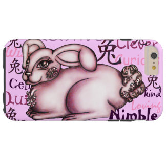 Year of the Rabbit Tough iPhone 6 Plus Case