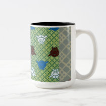 Year Of The Rabbit Two-Tone Coffee Mug