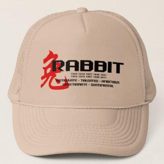 Year of The Rabbit Years - Characteristics Trucker Hat