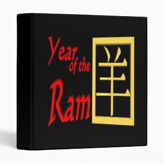Year Of The Ram Binder