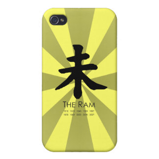 Year of the Ram Case For iPhone 4