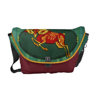Year of the ram messenger bag