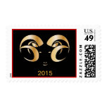 Year of the Ram / Sheep Postage Stamps