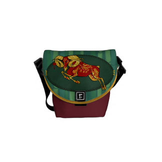 Year of the ram small shoulder bag courier bags