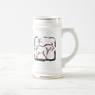 Year of The Ram Symbol Mug