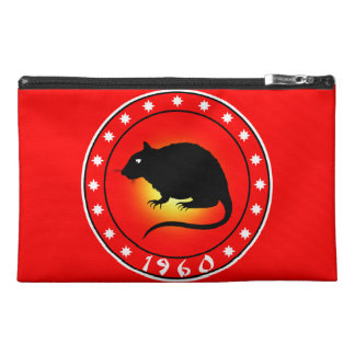 Year of the Rat 1960 Travel Accessories Bag