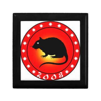 Year of the Rat 2008 Jewelry Box