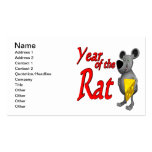 Year Of The Rat Business Cards