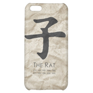 Year of the Rat Case For iPhone 5C