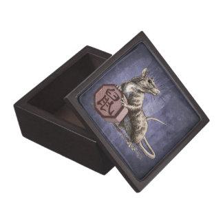 Year of the Rat Chinese Zodiac Animal Premium Jewelry Box