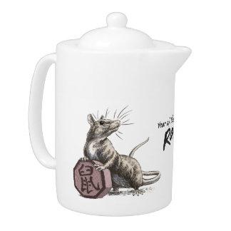 Year of the Rat Chinese Zodiac Animal