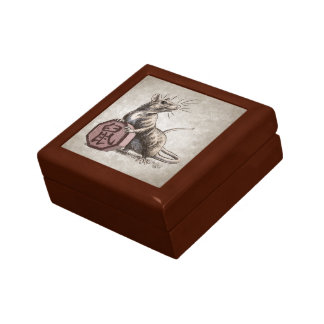 Year of the Rat Chinese Zodiac Art Trinket Boxes