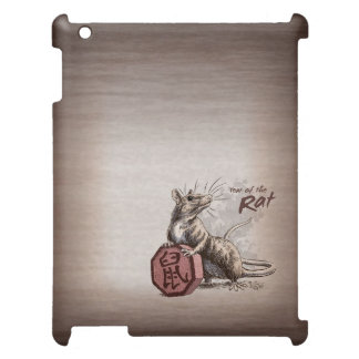 Year of the Rat Chinese Zodiac Art Cover For The iPad 2 3 4