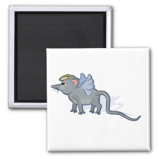 Year of the Rat Heavenly 2 Inch Square Magnet