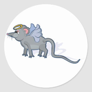 Year of the Rat Heavenly Classic Round Sticker
