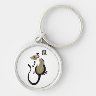 Year of the Rat Keychain