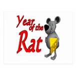 Year Of The Rat Post Cards