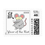 Year of the Rat Postage Stamps