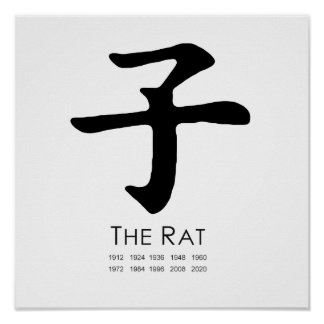 Year of the Rat Poster