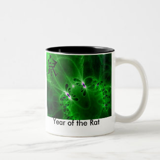 Year of the Rat Two-Tone Coffee Mug