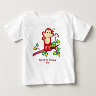 Year of the Red Monkey 2016 Baby Shirt