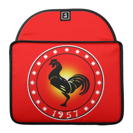 Year of the Rooster 1957 Sleeve For MacBook Pro