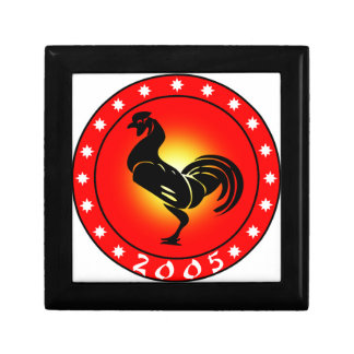 Year of the Rooster 2005 Jewelry Boxes