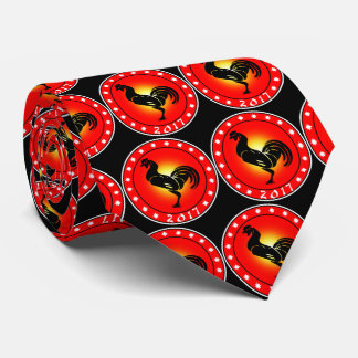 Year of the Rooster 2017 Neck Tie