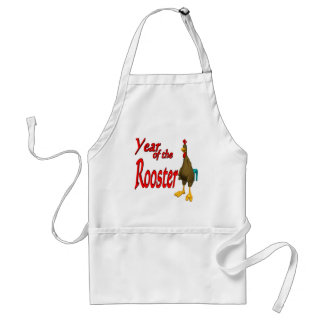 Year Of The Rooster Adult Apron