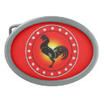 Year of the Rooster Belt Buckles