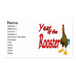 Year Of The Rooster Double-Sided Standard Business Cards (Pack Of 100)