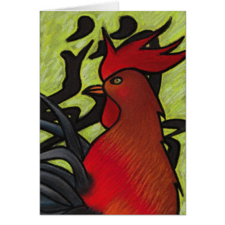 Year of the Rooster Card