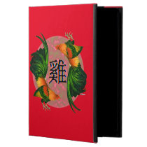 Year of the Rooster Circle Case For iPad Air