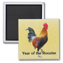 Year of the Rooster Magnet