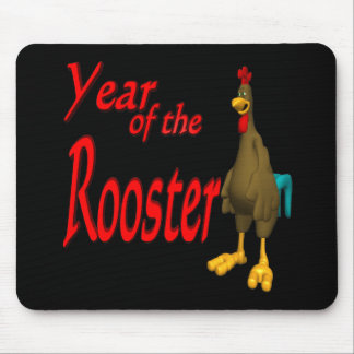 Year Of The Rooster Mouse Pad