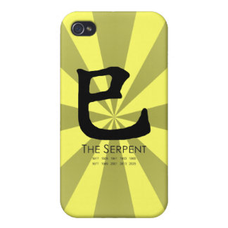 Year of the Serpent iPhone 4 Case