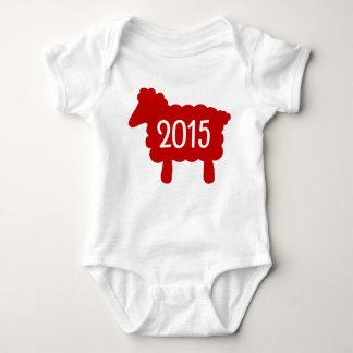 Year of the Sheep 2015 Baby Tshirts