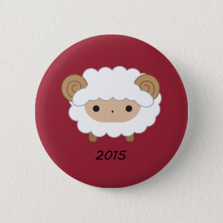 Year of the Sheep 2015 Button