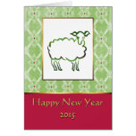 Year of the Sheep Chinese New Year Card