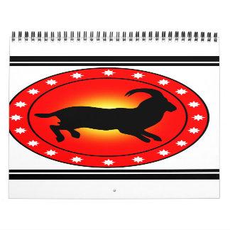 Year of the Sheep Ram Goat Wall Calendars