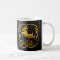 Year of The Sheep Ram Goat Coffee Mugs
