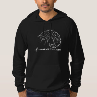 Year of The Sheep Ram Goat Hoodie