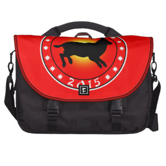 Year of the Sheep Ram Goat Bag For Laptop
