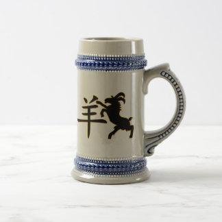 Year of The Sheep Ram Goat Mug