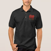 Year of The Sheep Ram Goat Polo Shirt