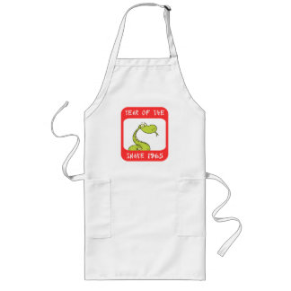 Year of The Snake 1965 Long Apron