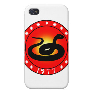 Year of the Snake 1977 Cases For iPhone 4