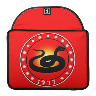 Year of the Snake 1977 MacBook Pro Sleeves