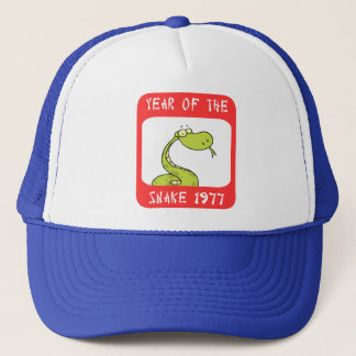 Year of The Snake 1977 Trucker Hat