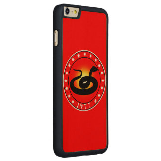Year of the Snake 1977 Carved® Maple iPhone 6 Plus Slim Case